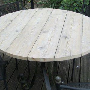tafelblad van steigerhout