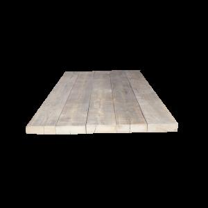 Oude balken tafelblad